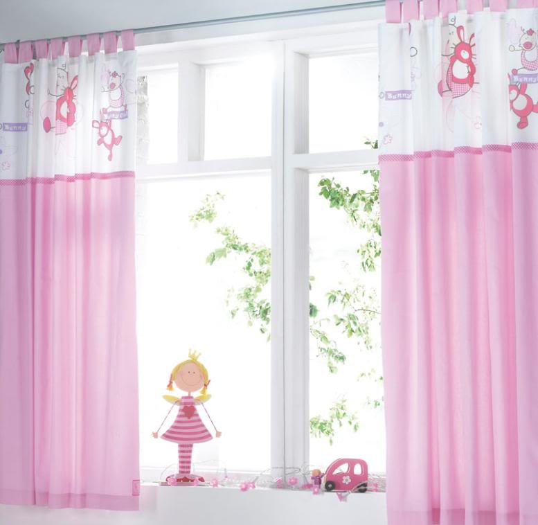 Curtains In The Nursery For Girls Baby Room Curtain Baby Rooms Designs
