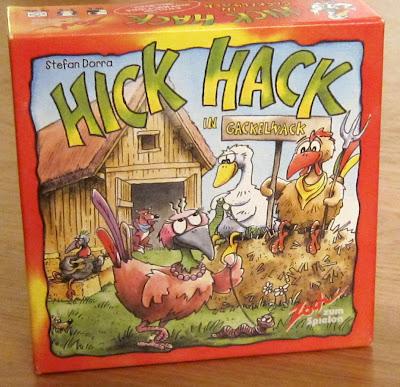 Hick Hack in Gackelwack - The box artwork