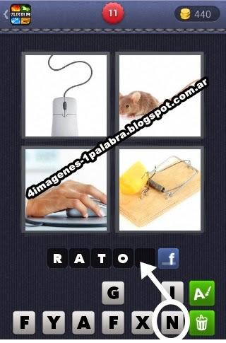 4 fotos 1 palabra (>‿<) Todas las soluciones ¡Diviértete!