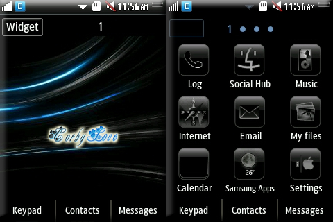 CORBY 2 THEMES: Black iPhone Theme by Anonymous