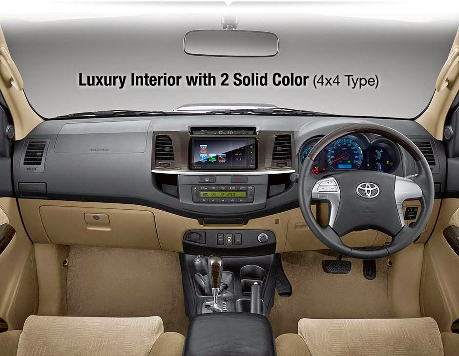 Interior New Fortuner G AT 4x4