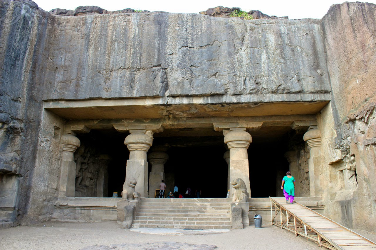 The main entrance of the Cave