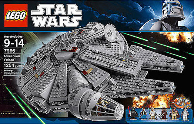 The Minifigure Collector: Lego - Star Wars sets and minifigures