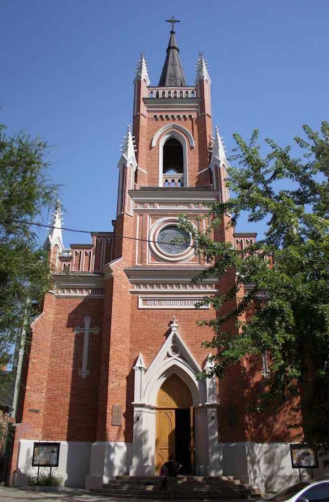 Catedral católica de rito latino da Assunção de Nossa Senhora, na diocese de Kharkiv-Zaporizhia
