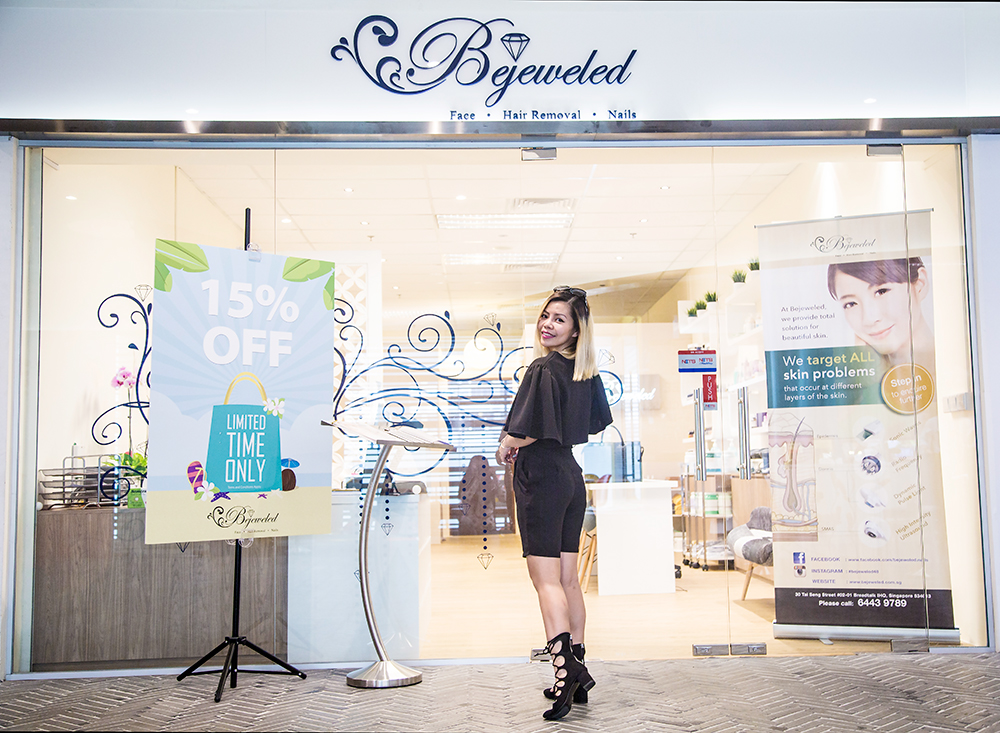 Crystal Phuong- Singapore Beauty Blog- Bejeweled beauty spa
