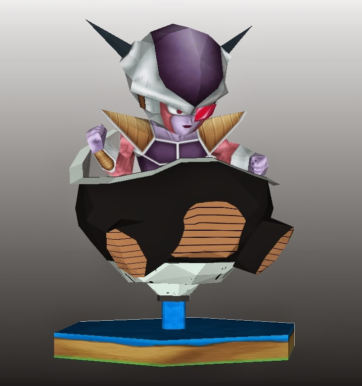 Hovercraft Frieza Papercraft