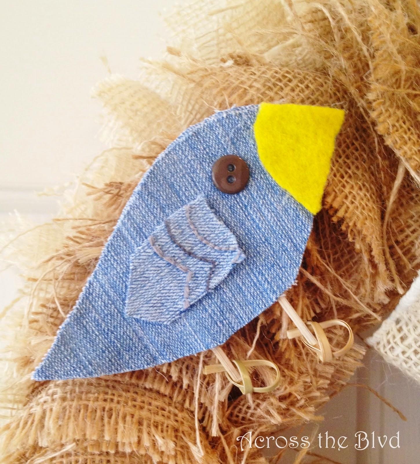 Denim Bird