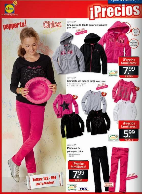 ropa infantil de lidl del 11-12-2014