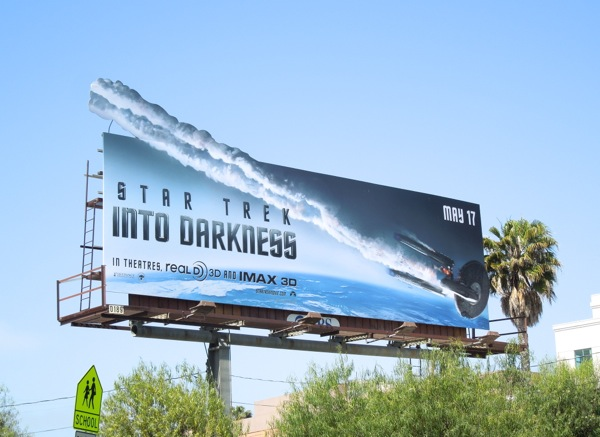 Star Trek Into Darkness extension billboard