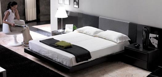 Dormitorios en negro cocinas modernas - Dormitorios blanco y negro ...