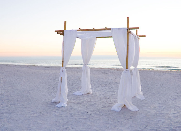 Pictures of RENTALS OF Bamboo Chuppah/Canopy/Arch Chairs For : bamboo wedding canopy - memphite.com