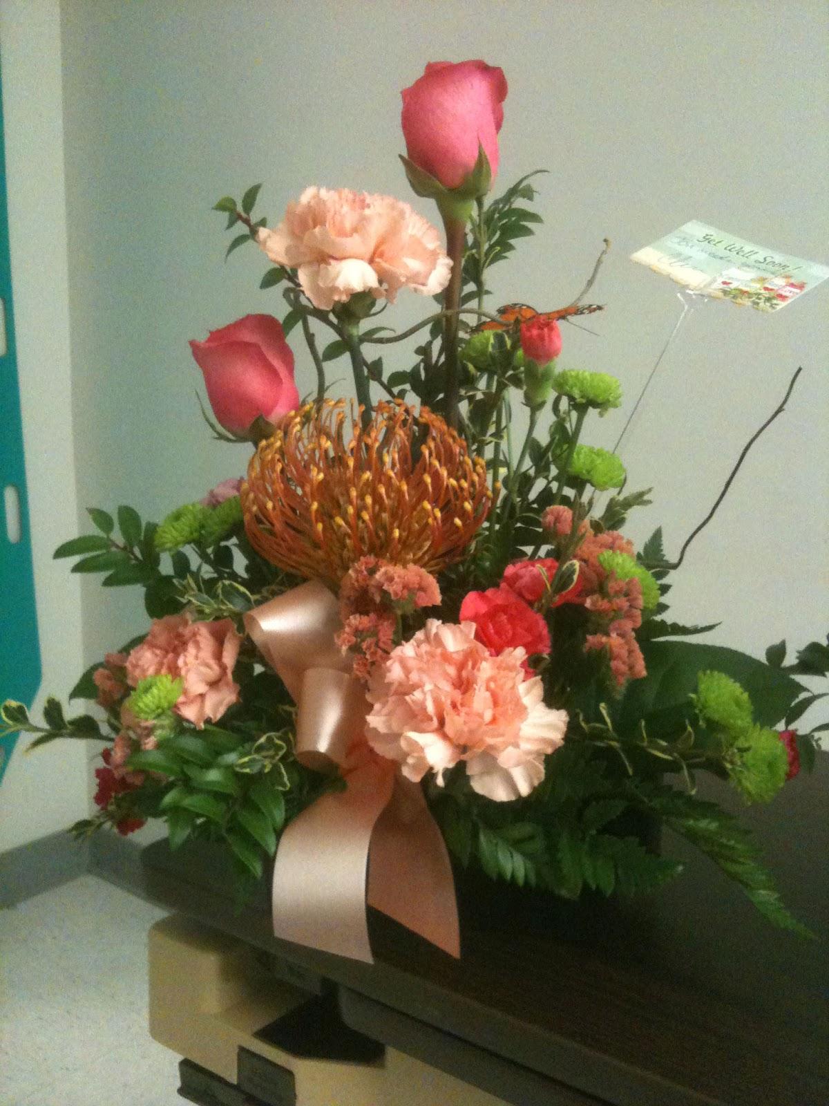 My Crazy Gluten Free Life WW Hospital Flowers