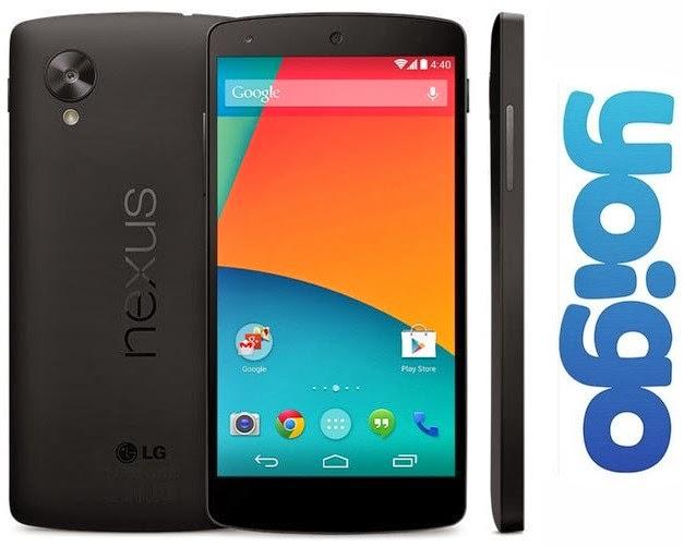 Nexus 5 YOIGO: precios y características