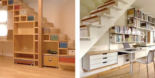 Emcarquitectura escales for Armarios para escaleras