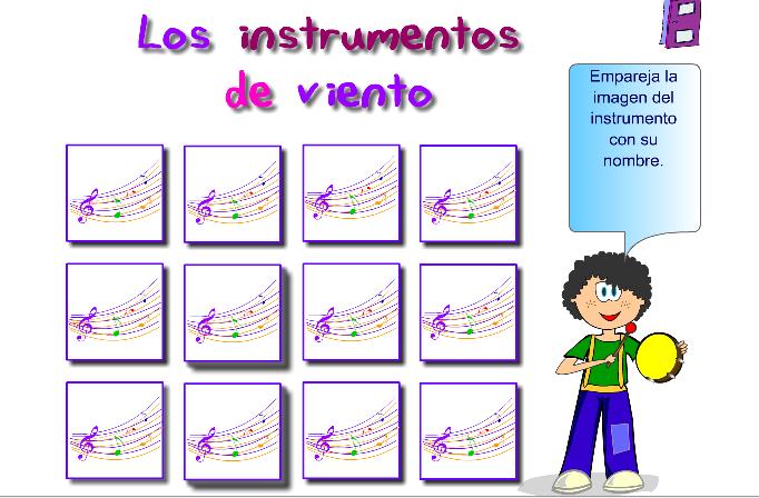 http://www.aprendomusica.com/swf/Memory_InstrumVientoNombres_esp.htm