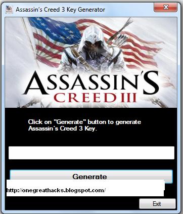Crack для ожидаемой игры Assassins Creed 3 от компании Ubisoft. . Кряк поз