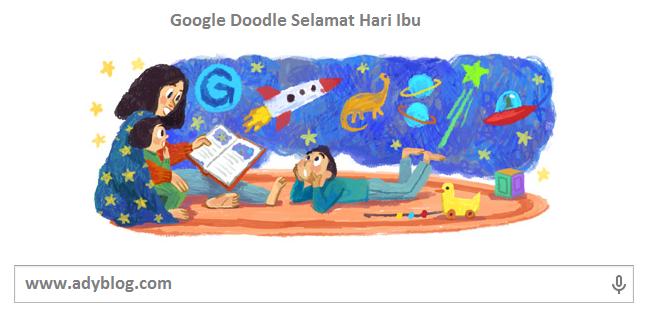 Google Doodle Hari Ini Memperingati Hari Ibu