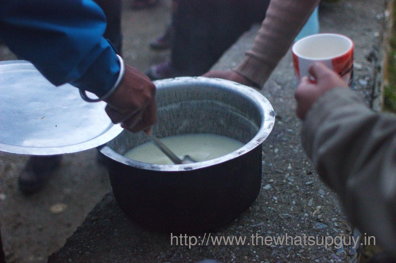 Didina-Evening-Soup-Roopkund-Trek-With-India-Hikes-Day-1
