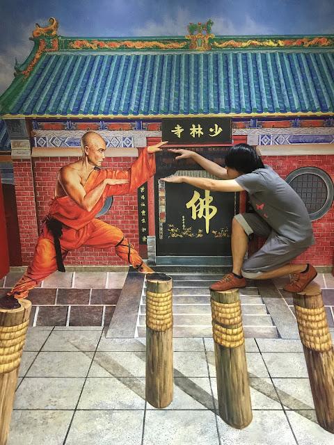 Trick eye museum martial arts singapore