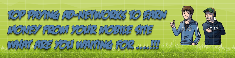 Top 10 Ad-Networks to Earn Money From Wapsite
