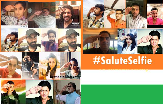 #saluteselfie