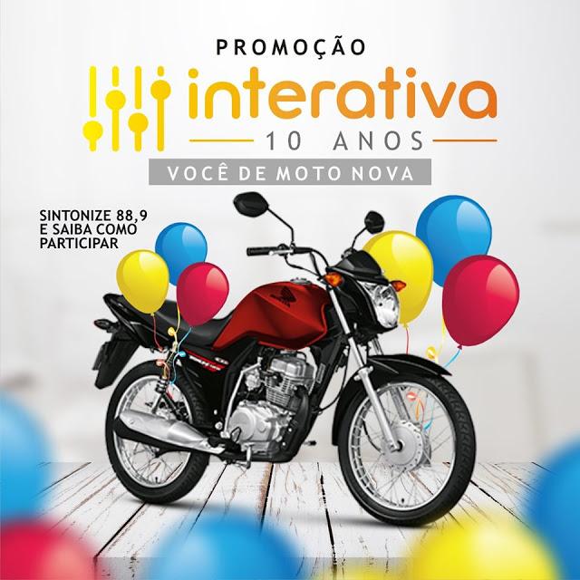 10 ANOS NO AR - INTERATIVA FM 88.9