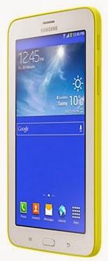 Gambar Samsung Galaxy Tab 3 Lite 7.0 3G Kuning Bagian Depan