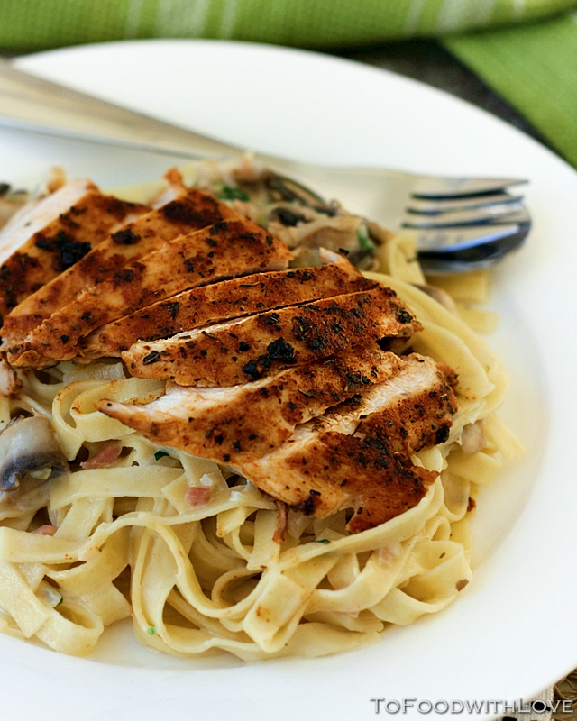 To Food with Love: Cajun Chicken Pasta