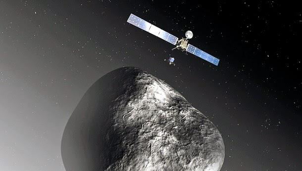 A conspiração do pouso no cometa