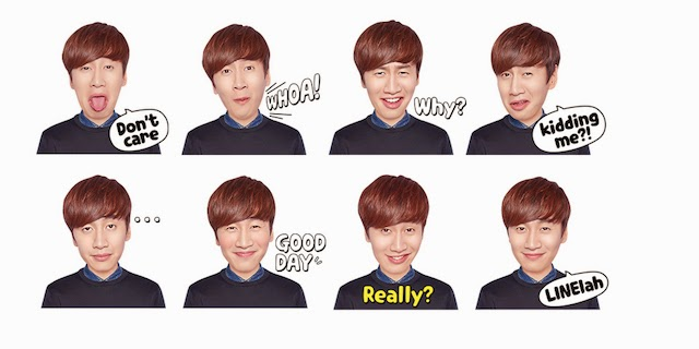 Exclusive Lee Kwang Soo LINE Stickers Now Available