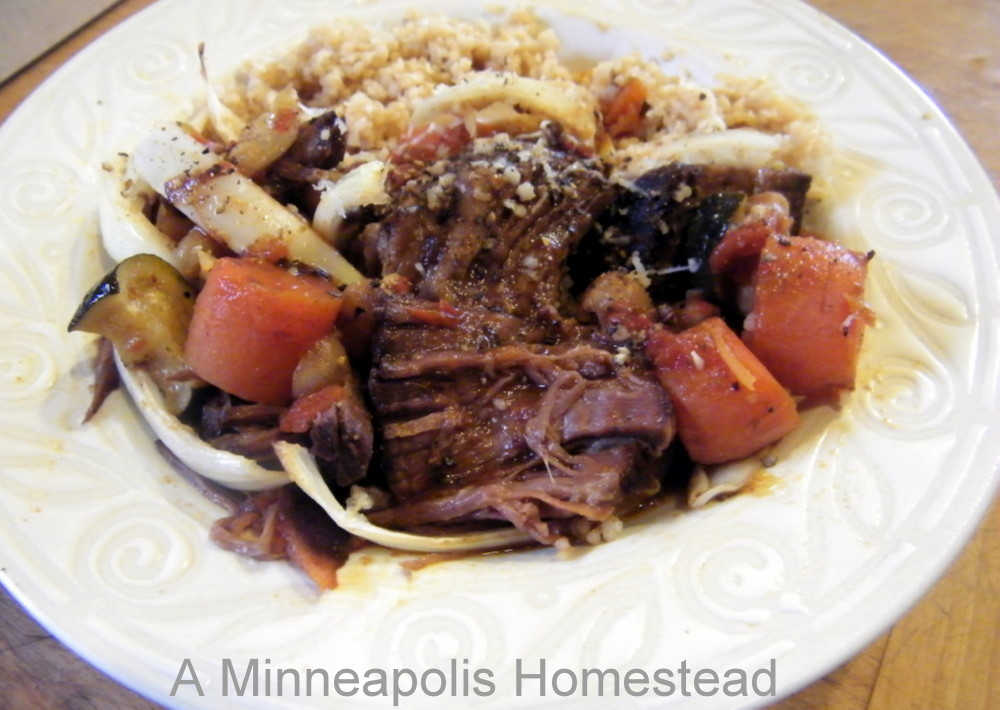 Beef Pot Roast Pot, Oven Or Slow Cooker) Recipe - Food.com