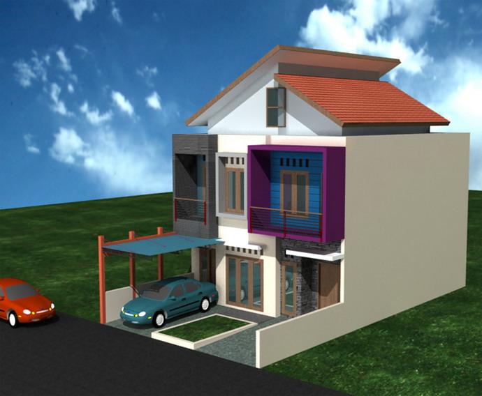 rumah rumah minimalis modern small living homes designs