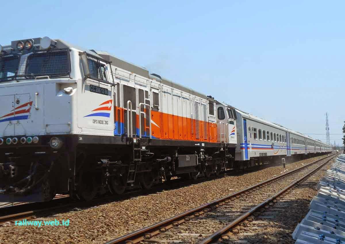 Gambar Kereta Api Jayabaya Malang Jakarta