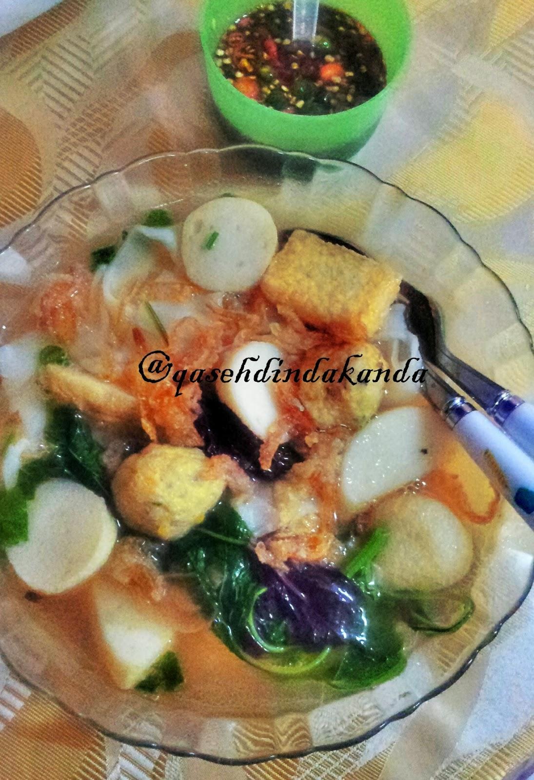 Sup Bebola Ikan Simple