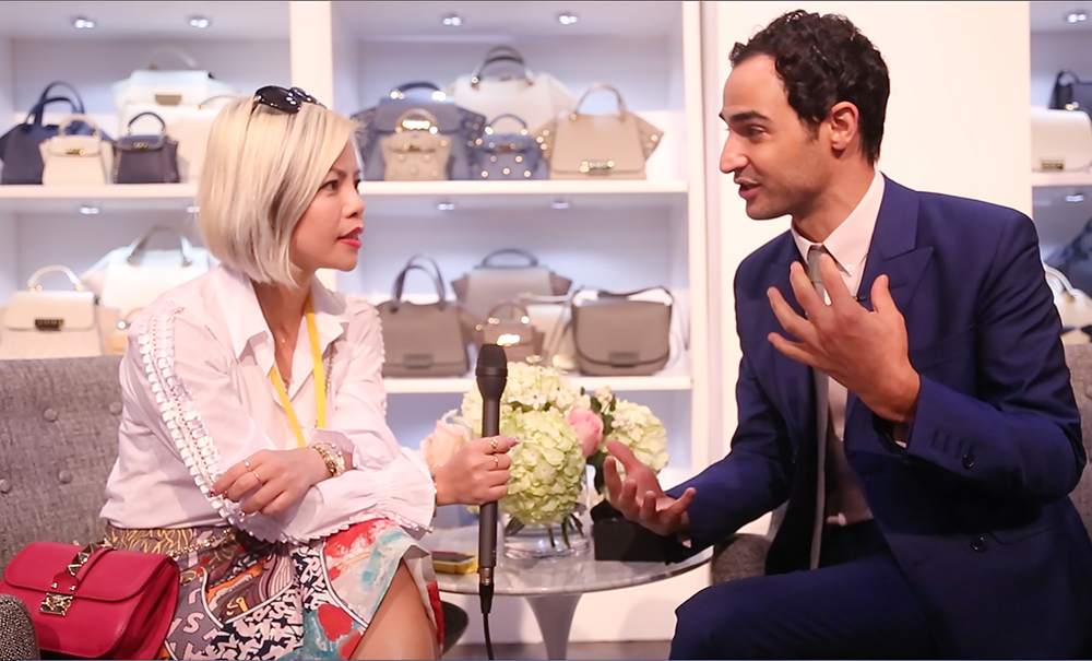 Fashion Blogger Crystal Phuong interviewed fashion designer, Zac Posen