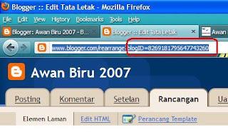 Mencari Blog-ID Anda