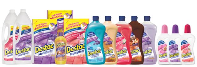 Decorflex, Duraflor, Destac, Pisos, Limpeza, PressKit, Recebido, Fundamento Digital, Lavanda
