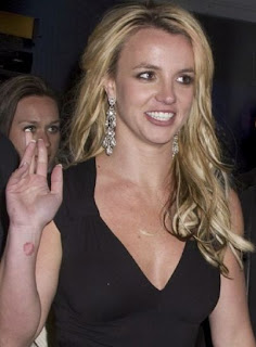 Britney Spears' hands!