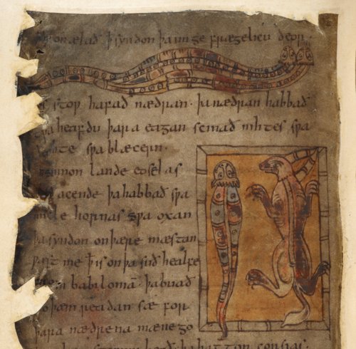 beowulf manuscript analysis The transcription of the beowulf manuscript is dated at about 1000 ad two scribes were probably involved, but we have only the one manuscript.