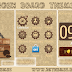 Wooden Board HD Theme For Nokia 202,300,303,x3-02,c2-02,c2-03,c2-06,c3-01 240*320 Touch and Type Devices