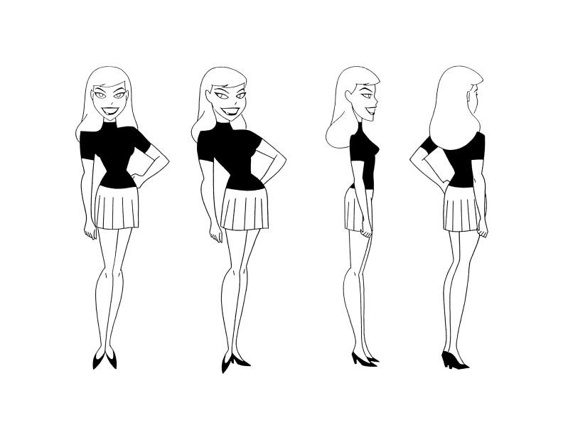Batman the Animated Series Model Sheets