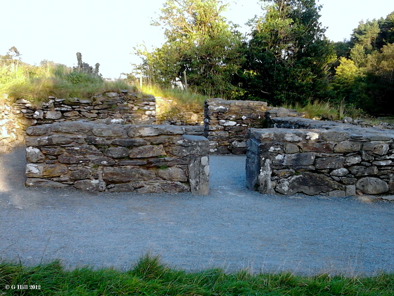Ireland In Ruins: Glendalough Co Wicklow