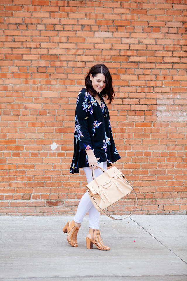 kendi everyday floral tunic