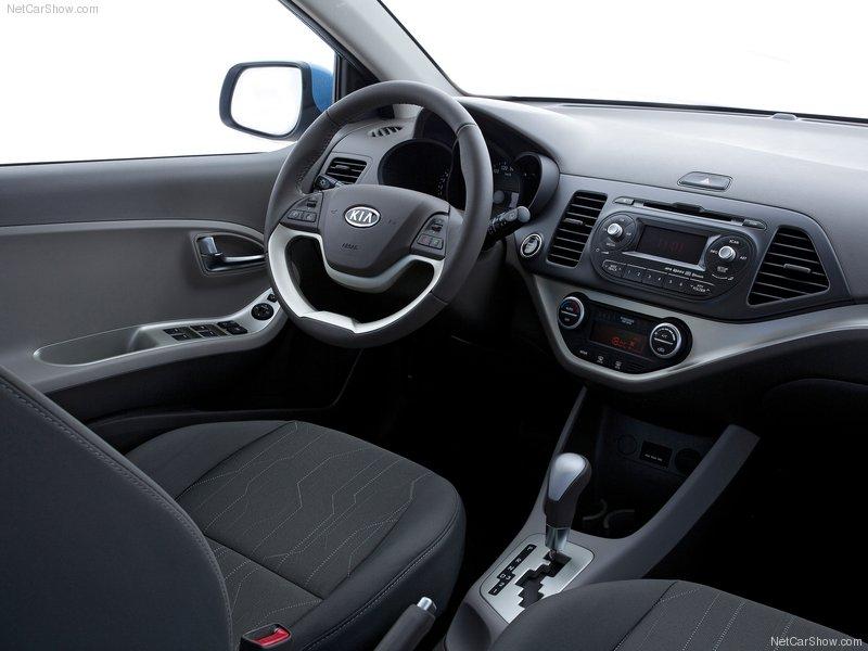 auto carz zone: 2012 Kia Picanto interior images