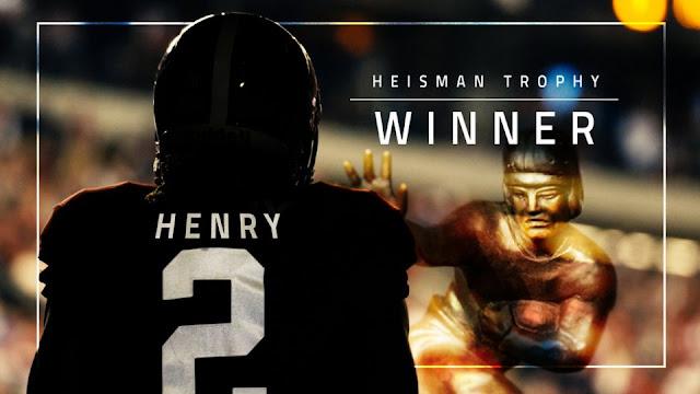 Alabama's Derrick Henry wins 2015 Heisman Trophy, joins his heroes