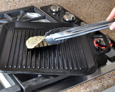 How to make Grilled Flatbread from scratch, step-by-step photos and instructions. Use tongs to test for doneness.