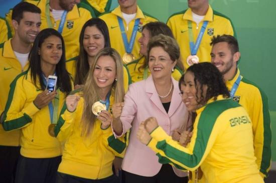 Mais de 80% das medalhas do Brasil no último Pan foram conquistadas por atletas bolsistas