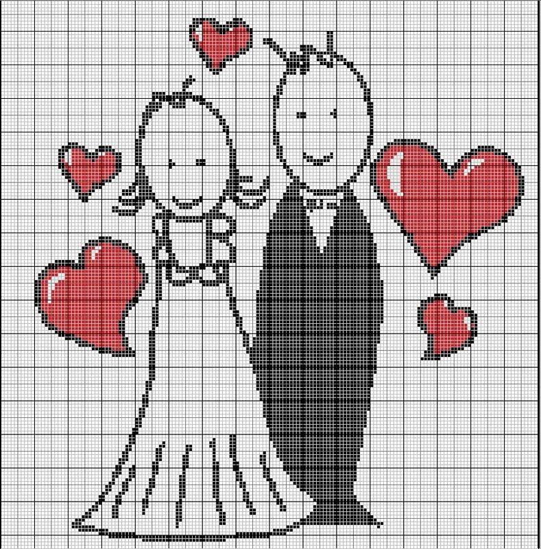 Какие вышивки на любовь