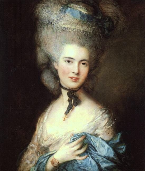 Two Nerdy History Girls The Truth About The Big Hair Of The 1770s