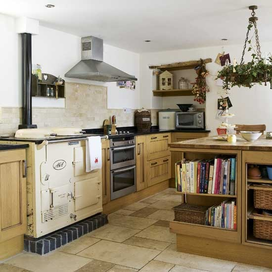 New home interior design country kitchens for Country kitchen designs